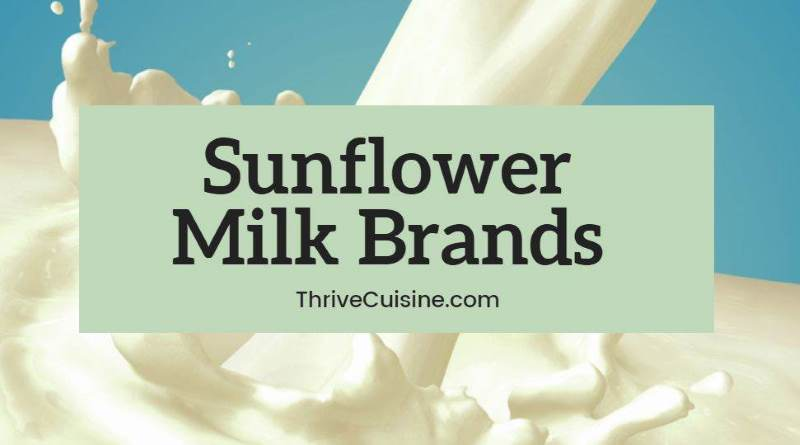 sunflower milk brands