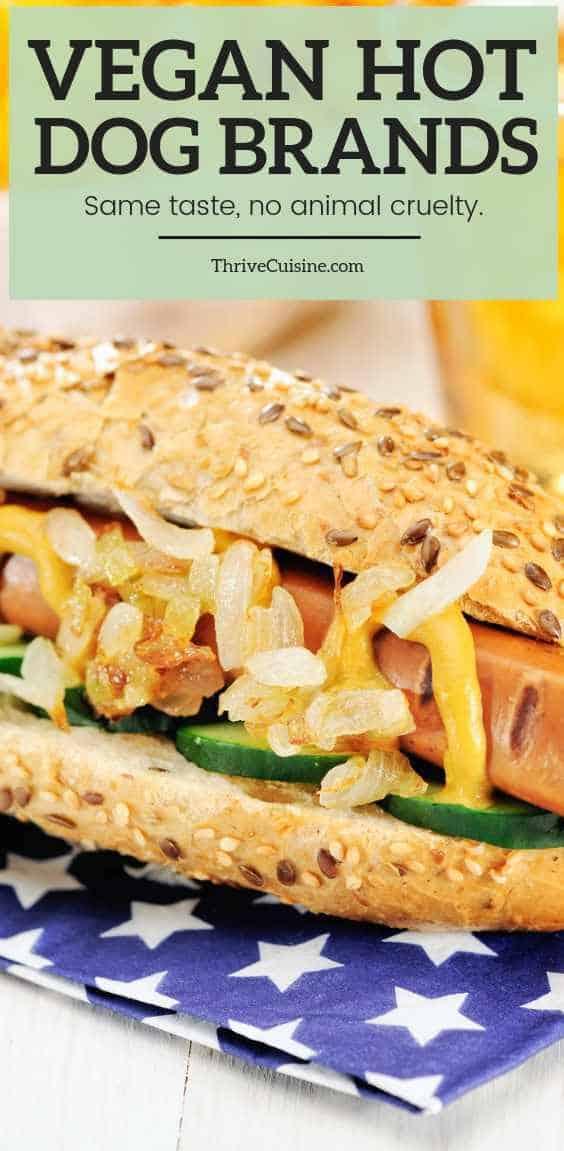 vegan hot dog brands