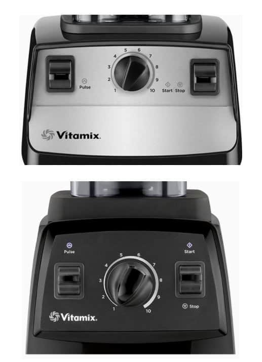 vitamix 5300 vs 7500 interface