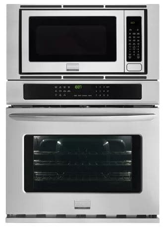 ​27 CONVECTION ELECTRIC SINGLE WALL OVEN WITH BUILTIN MICROWAVE