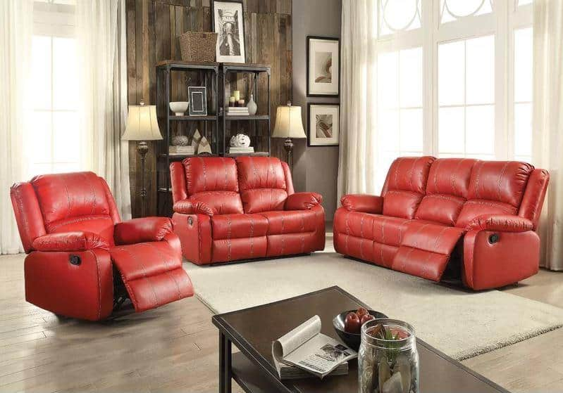 Awesome 8 Faux Leather Reclining Sofa Options That Make The Room Machost Co Dining Chair Design Ideas Machostcouk