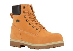 MENS GOLDEN WHEAT BRACE HI TIMBERLAND STYLE WORK BOOTS BY LUGZ
