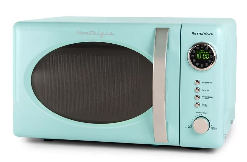 5 Light Blue Microwave Oven Options For A Retro Touch
