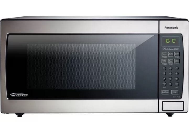 ​PANASONIC 22 1.6 CU. FT. COUNTERTOPBUILTIN MICROWAVE WITH GENIUS SENSOR AND INVERTER TECHNOLOGY