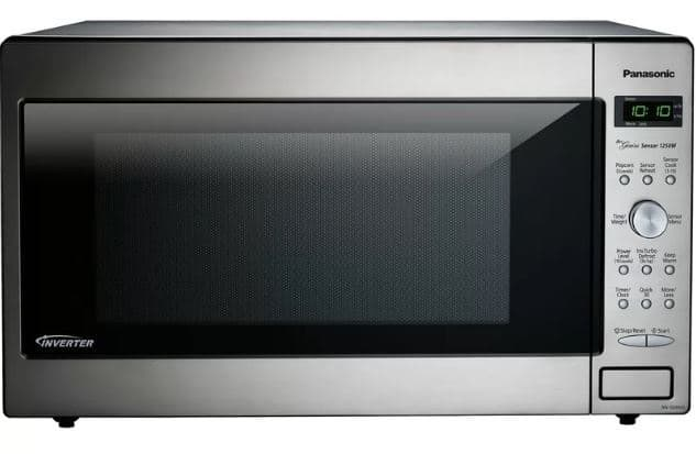 ​PANASONIC 23 2.2 CU. FT. COUNTERTOPBUILTIN MICROWAVE WITH GENIUS SENSOR AND INVERTER TECHNOLOGY