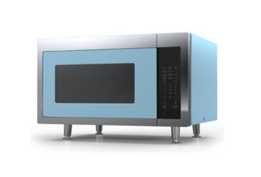 BIG CHILL RETRO MICROWAVE, BEACH BLUE