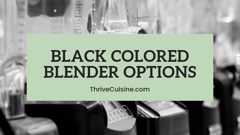 BLACK BLENDER