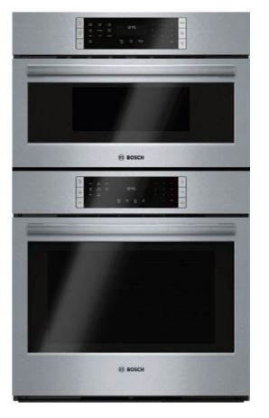 BOSCH MICROWAVE COMBINATION OVEN, STAINLESS STEEL