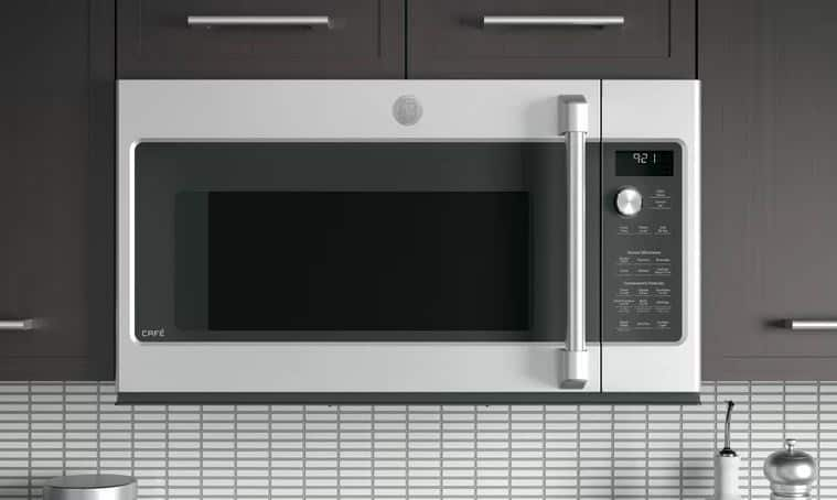 CAFÉ 30 2.1 CU. FT. OVER-THE-RANGE MICROWAVE