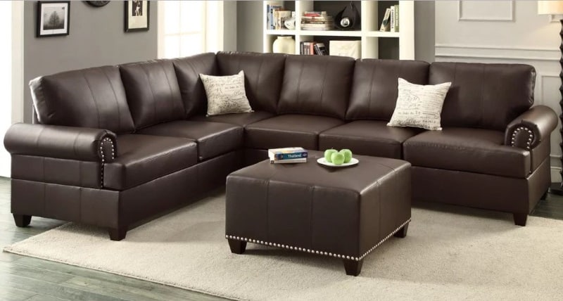 CHARLTON HOME ALDORA REVERSIBLE SECTIONAL