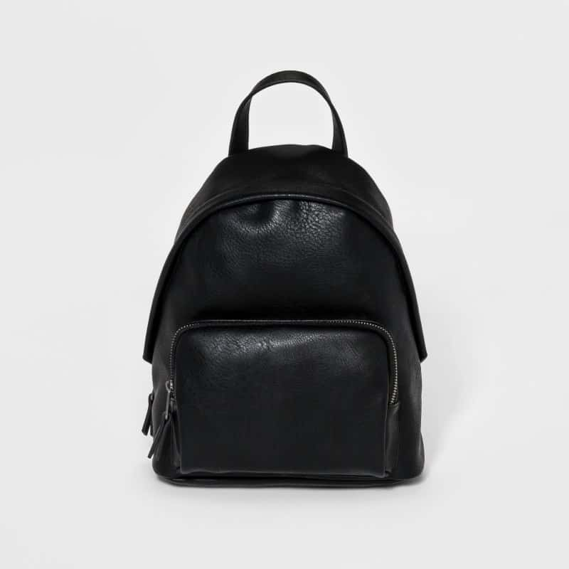 COGNAC FAUX LEATHER DOME MINI BACKPACK BY UNIVERSAL THREAD