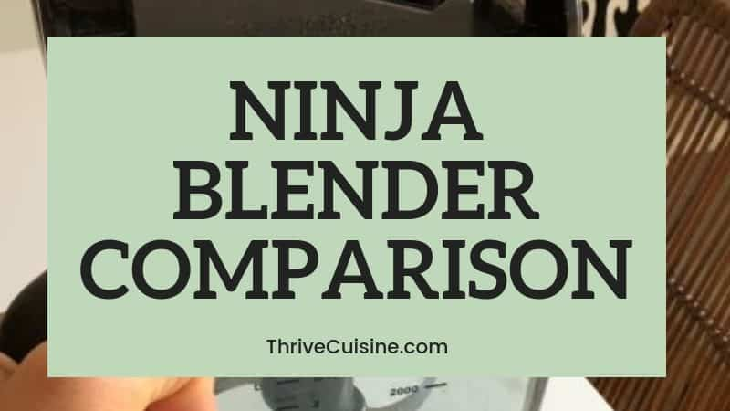 COMPARE NINJA BLENDER MODELS