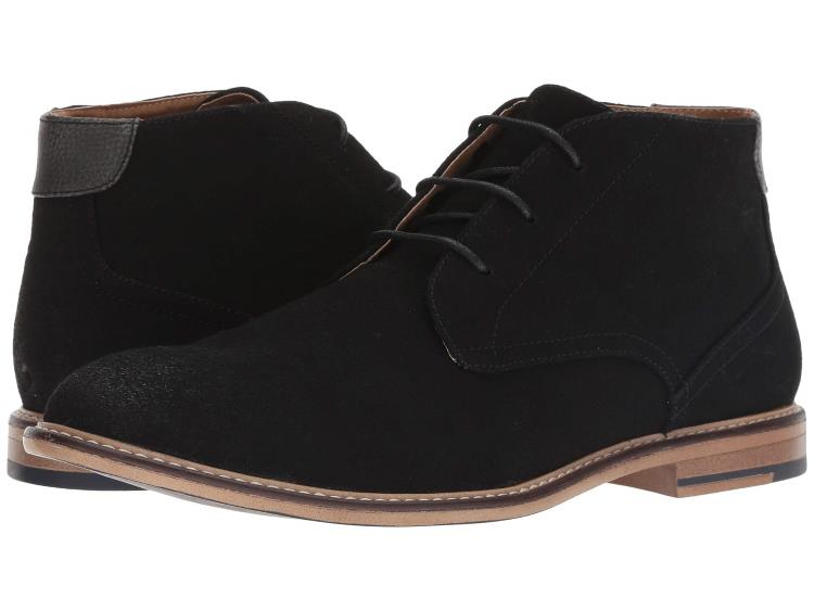 MENS BLACK GRAND 6 DRESS CHUKKA BOOTS BY STEVE MADDEN