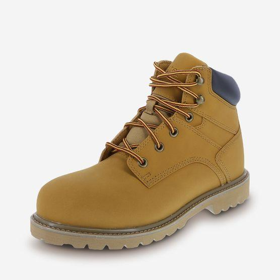 MENS CHAMOIS STEEL TOE WATERPROOF WORK BOOTS BY DEXTER