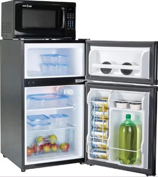 MICROFRIDGE SNACKMATE 3.1 CU. FT. COMPACT REFRIGERATOR WITH FREEZER