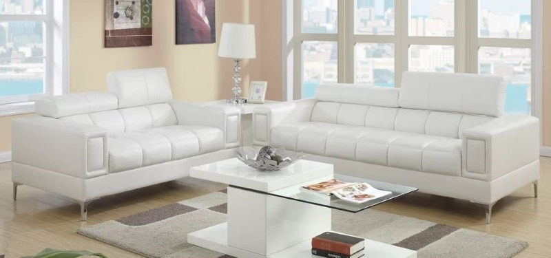 ORREN ELLIS ANKENY TWO PIECE LIVING ROOM SET