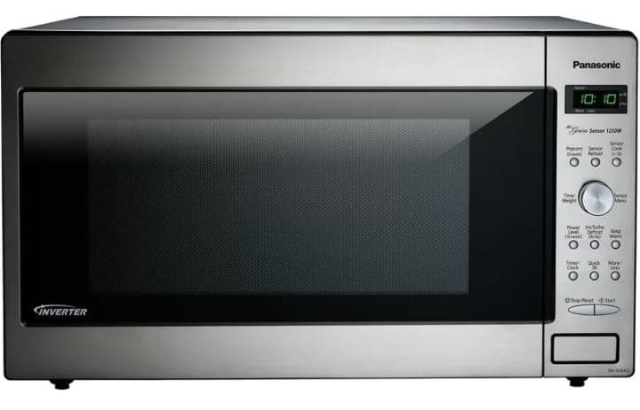 PANASONIC 23 2.2 CU. FT. COUNTERTOPBUILTIN MICROWAVE WITH GENIUS SENSOR AND INVERTER TECHNOLOGY