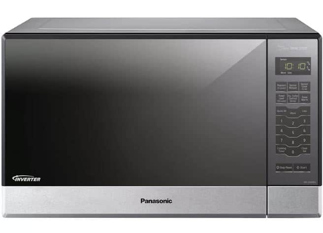 PANASONIC GENIUS SENSOR 1200W COUNTERTOPBUILTIN 20.7 1.2 CU. FT. COUNTERTOP MICROWAVE WITH INVERTER TECHNOLOGY