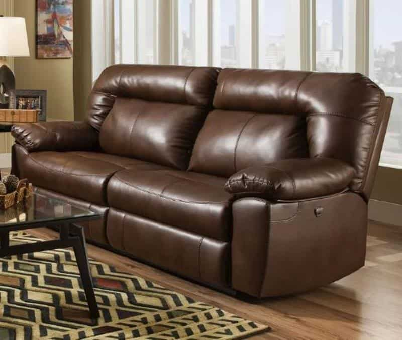 RED BARREL STUDIO BOLLES DUAL RECLINING SOFA