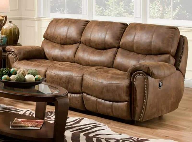 RED BARREL STUDIO CAROLINA POWER MOTION RECLINING SOFA