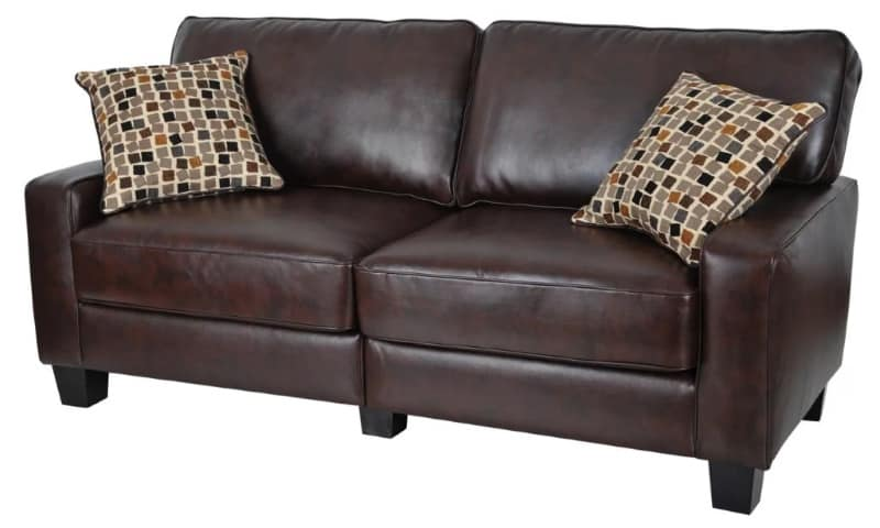 8 Cheap Faux Leather Couch Options That Look Expensive 2019