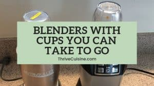 Smoothie Blenders with To Go Cup