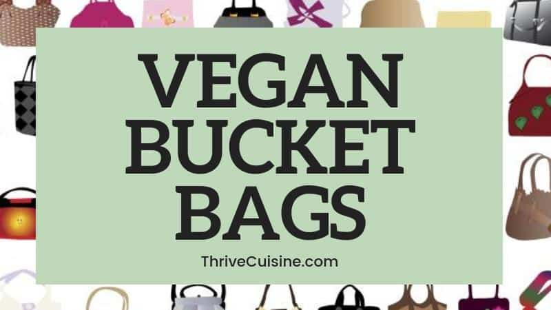 VEGAN BUCKET BAG