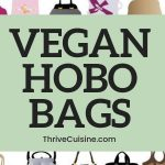 VEGAN HOBO BAG