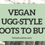 VEGAN UGG STYLE BOOTS