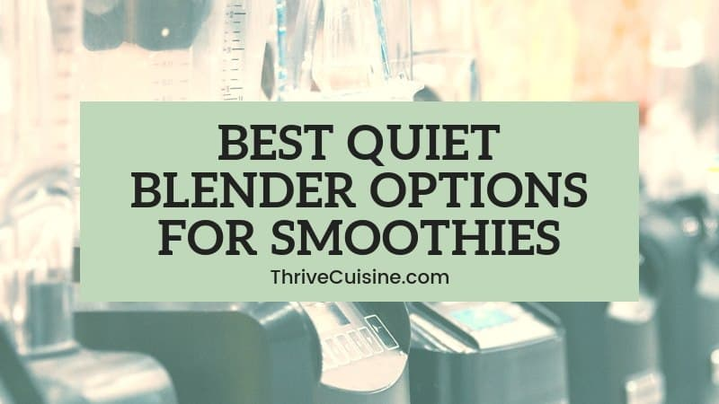 top quiet blenders