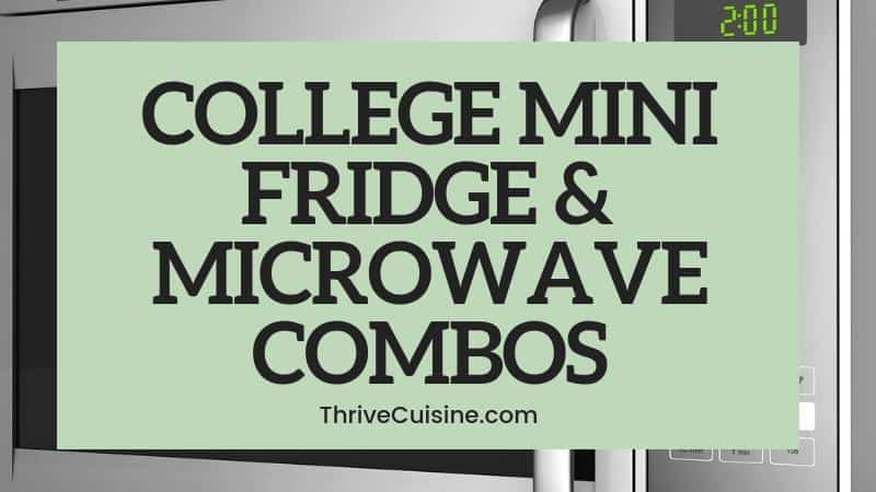 college mini fridge and microwave combo