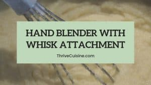 hand blender with whisk attachment