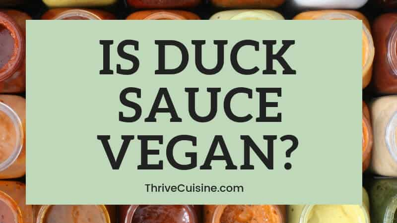 is oyster sauce vegan