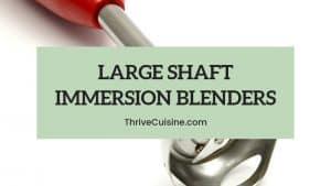 large immersion blender