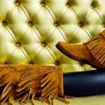 vegan fringe boots