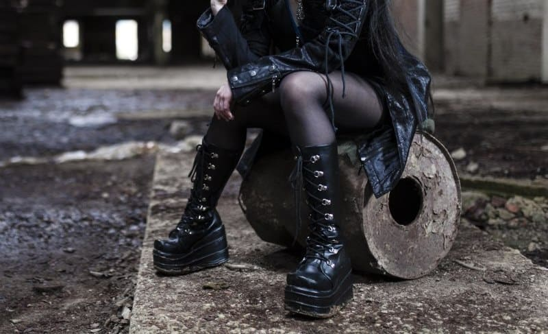 vegan goth boots to buy