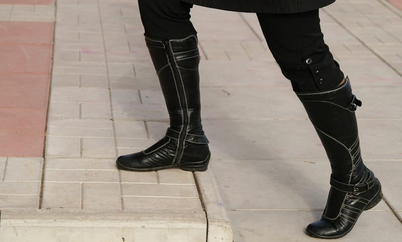 vegan knee high boots for women