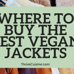 BEST VEGAN JACKET STYLES AND WHERE TO BUY THEM