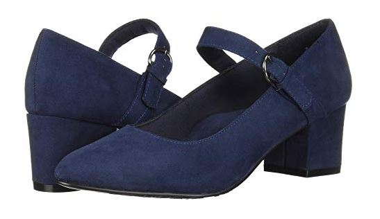 DUSTIE FAUX SUEDE MARY JANES FROM SOFT STYLE