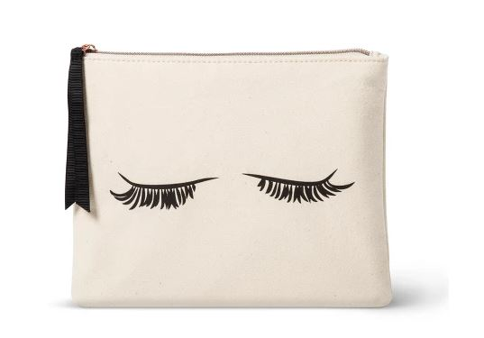 EYELASH CLUTCH MAKEUP BAG BY ALLEGRO