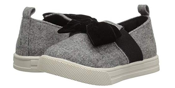 GIRLS BOW SLIP-ONS FROM BABY DEER