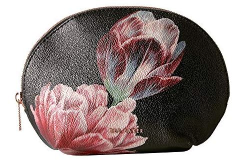MARLYNN FLORAL FAUX LEATHER MAKEUP BAG BY TED BAKER