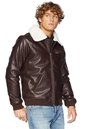dce9c2152ec952 10 Good-Looking Brown Vegan Leather Jacket Options (Men   Women - 2019)