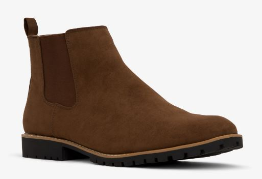 MENS HAIL VEGAN SUEDE CHELSEA BOOTS BY MATT & NAT
