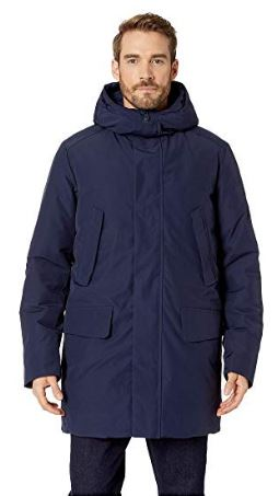 MENS HOODED PARKA BY SAVE THE DUCK