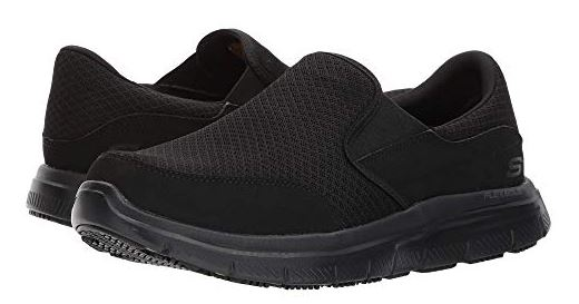 MENS MCALLEN WORK SHOES BY SKETCHERS