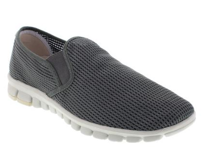 MENS MESH SLIP-ONS FROM NOSOX vegan shoes for orthopedic patients