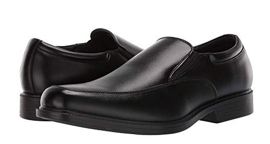 MENS OFFICER FAUX LEATHER LOAFERS BY VAN HEUSEN