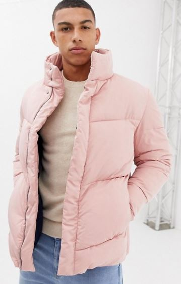 MENS OVERSIZED PUFFER JACKET BY ASOS DESIGN