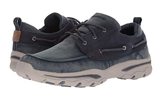 MENS RELAXED FIT CRESTON VOSEN BOAT SHOES FROM SKETCHERS